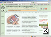 DGfK Website 2002 bis 2007