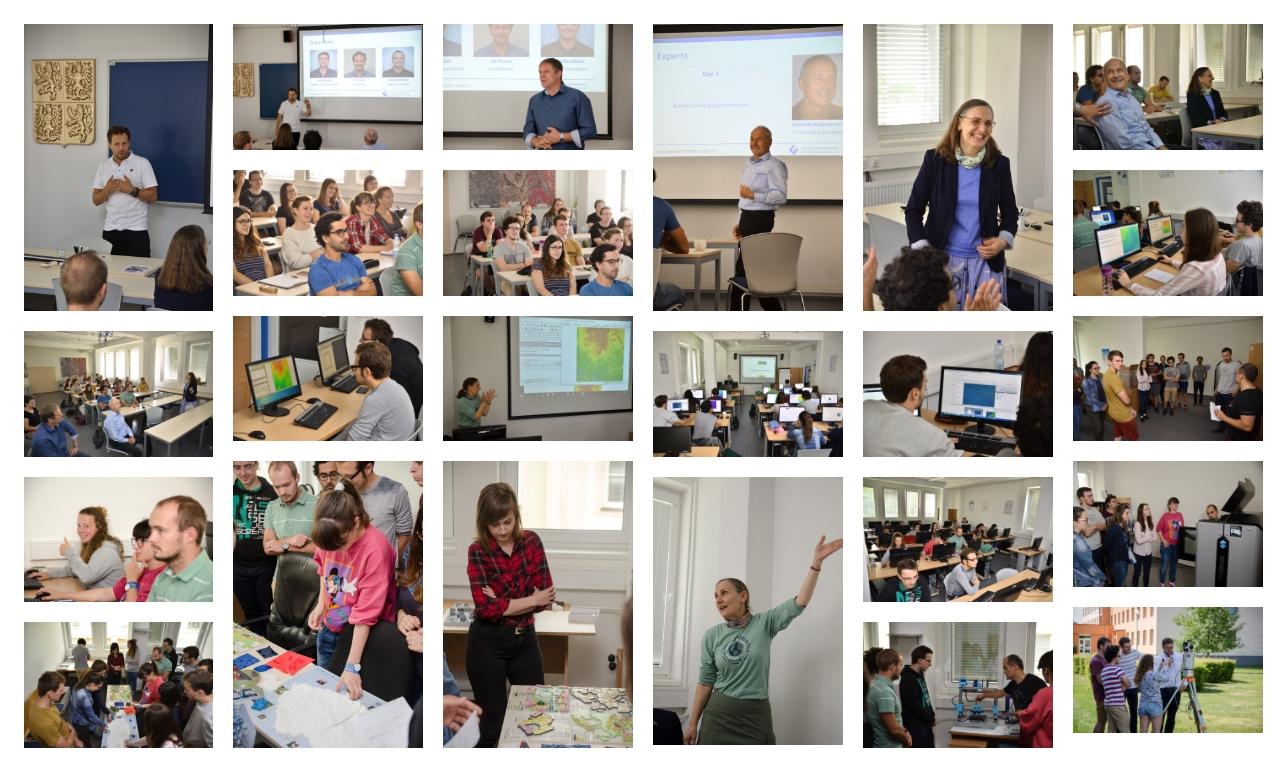 Geospatial Summer School 2019 @ Palacký University Olomouc, Department of Geoinformatics