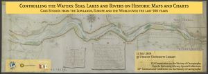 Controlling the Waters on Historic Maps @ Utrecht Univesity