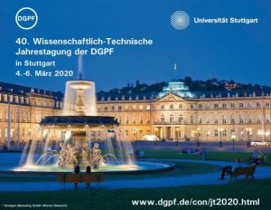 40. Wissenschaftlich-Technische Jahrestagung der DGPF @ Universität Stuttgart